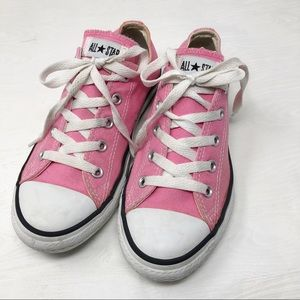 Converse | All Star OX PINK CANVAS LACEUP Sneakers